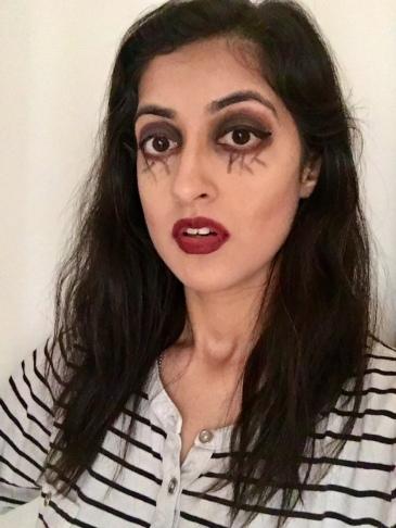 halloween makeup look 1